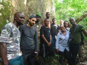 Photo de groupe des participants de l'Eductour