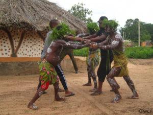 Spectacle traditionnel au village de Gouléako 1